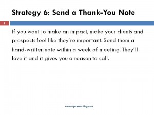 Keep Your Prospect Engaged