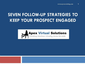 7 Follow Up Strategies to Keep Your Prospects Engaged