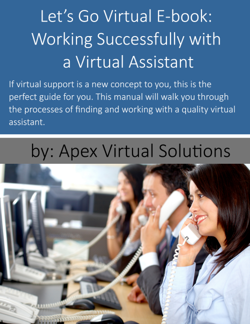 Let's Go Virtual Ebook: Working Successfully with a Virtual Assistant