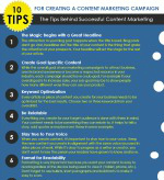 10 Tips for Creating a Successful Content Marketing Campaign [Infographic]