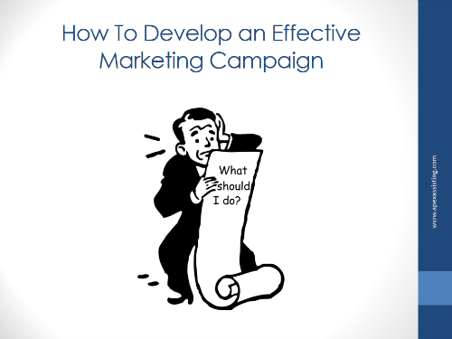 How to Develop an Effective Marketing Campaign