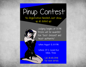 Pinup-flyer