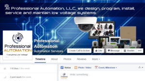 Professional Automation Facebook