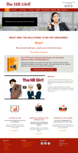 The HR Girl -New Home Page