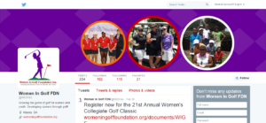 Women In Golf FDN WIGFinc Twitter