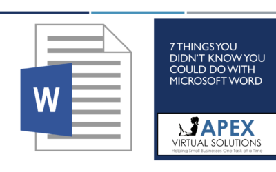 7 Things You Didn't Know You Could Do With Microsoft Word