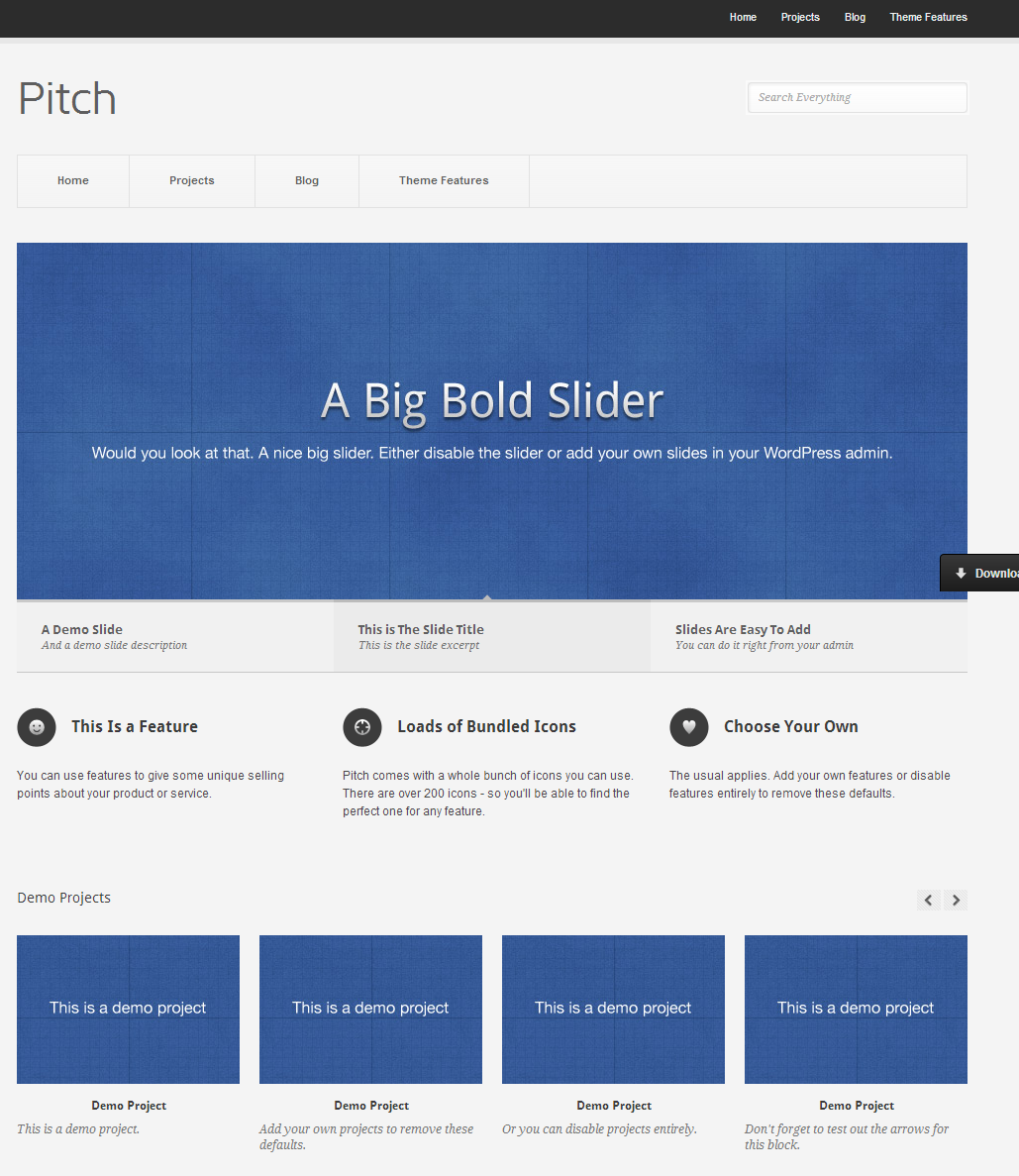 5 best free wordpress themes for small business owners atlanta pitch preview friedricerecipe Gallery