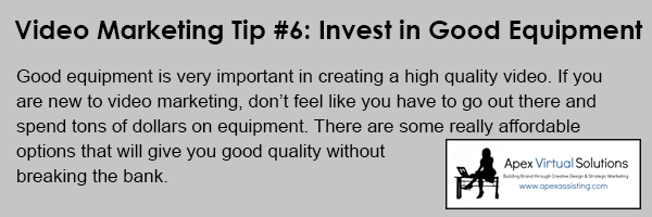 Video-Marketing-Tip-Invest-in-Good-Equipment