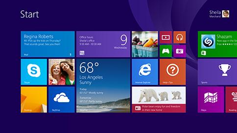 Windows 8 Flat Design